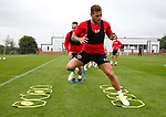 Billy Sharp of Sheffield Utd during the training session at the Shirecliffe Training complex, Sheffield. Picture date: June 27th 2017. Pic credit should read: Simon Bellis/Sportimage