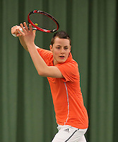March 13, 2015, Netherlands, Rotterdam, TC Victoria, NOJK, Max van Nunen (NED)  Deney Wasermann (NED)<br /> Photo: Tennisimages/Henk Koster