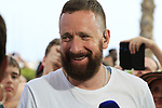 Eurosports Sir Bradley Wiggins after Stage 3 of La Vuelta 2019 running 188km from Ibi. Ciudad del Juguete to Alicante, Spain. 26th August 2019.<br /> Picture: Eoin Clarke | Cyclefile<br /> <br /> All photos usage must carry mandatory copyright credit (© Cyclefile | Eoin Clarke)