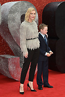 Cate Blanchett, and her son Ignatius<br /> &quot;Ocean's 8&quot; European film premiere in Leicester Square, London, England on June 13, 2018<br /> CAP/Phil Loftus<br /> &copy;Phil Loftus/Capital Pictures /MediaPunch ***NORTH AND SOUTH AMERICAS ONLY***