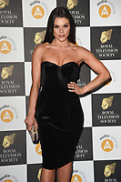 Faye Brookes<br /> arriving for the RTS Awards 2019 at the Grosvenor House Hotel, London<br /> <br /> ©Ash Knotek  D3489  19/03/2019