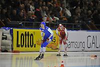 SCHAATSEN: HEERENVEEN: 27-12-2013, IJsstadion Thialf, KNSB Kwalificatie Toernooi (KKT), 3000m, Annouk van der Weijden, ©foto Martin de Jong