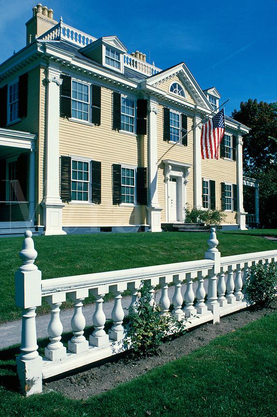 Henry Wadsworth Longfellow House  Cambridge MA