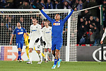 Getafe CF's Robert Kennedy celebrates goal during UEFA Europa League match. December 12,2019. (ALTERPHOTOS/Acero)