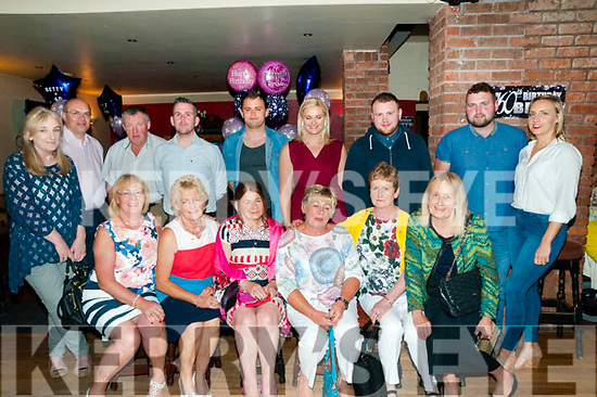 60th Birthday: Betty Mullally, Ballyduff & Rathangan celebrating her 60th birthday with family and friends at the Hopper Bar, Ballyduff on Saturday nigh last.