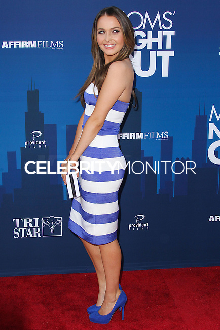 "HOLLYWOOD, LOS ANGELES, CA, USA - APRIL 29: Camilla Luddington at the Los Angeles Premiere Of TriStar Pictures' ""Mom's Night Out"" held at the TCL Chinese Theatre IMAX on April 29, 2014 in Hollywood, Los Angeles, California, United States. (Photo by Xavier Collin/Celebrity Monitor)"
