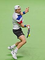 Rotterdam, The Netherlands,  15 Februari, 2018, Ahoy, Tennis, ABNAMRO World Tennis Tournament, Tallon Griekspoor (NED)<br /> Photo: www.tennisimages.com