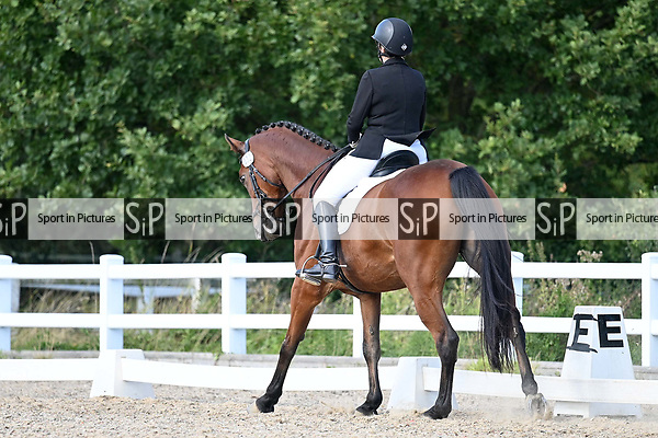 Stapleford Abbotts. United Kingdom. 08 September 2019. Class 8. British dressage. Brook Farm training centre. Essex. UK.~ 08/09/2019.  MANDATORY Credit Garry Bowden/Sport in Pictures - NO UNAUTHORISED USE - 07837 394578