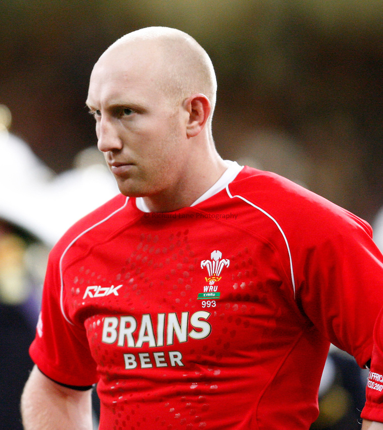 Photo: Richard Lane/Richard Lane Photography..Wales v South Africa. Prince William Cup. 24/11/2007. .Wales' Tom Shanklin.