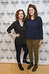 "Margot Bordelon and Mara Nelson-Greenberg attends the photo call for the Vineyard Theatre production of ""Do You Feel Anger?"" at the Vineyard Theater Rehearsal studio Theatre on February 14, 2019 in New York City."