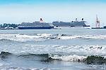 Cruise Ships, Queen Victoria, Caribbean, Puerto Limon, Costa Rica