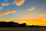 Roslyn, New York U.S. 29th June 2013.  During sunset at North Hempstead Beach Park, on Long Island's Gold Coast.