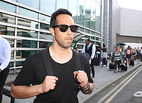 Claudio Bravo Arrives in Manchester prior to Manchester City Signing