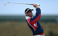 Bradley Dredge of Wales in action during the Final Round of the 2015 Alfred Dunhill Links Championship at the Old Course, St Andrews, in Fife, Scotland on 4/10/15.<br /> Picture: Richard Martin-Roberts | Golffile