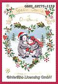 John, CHRISTMAS ANIMALS, WEIHNACHTEN TIERE, NAVIDAD ANIMALES, paintings+++++,GBHSSXC75-1159,#XA#