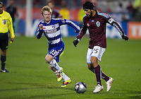 21 November 2010: FC Dallas midfielder Dax McCarty #13 and Colorado Rapids defender/midfielder Pablo Mastroeni #25 in action during the 2010 MLS Cup Final between the Colorado Rapids and FC Dallas at BMO Field in Toronto, Ontario Canada...