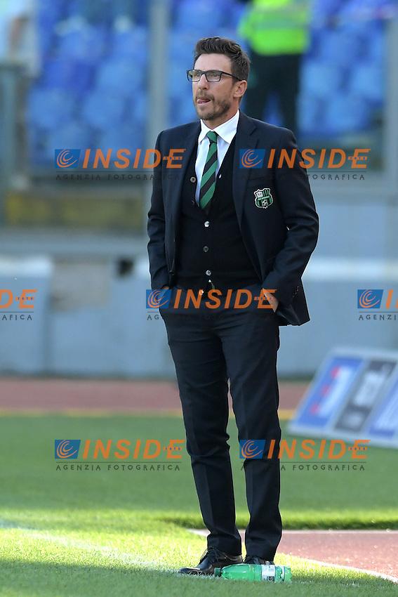 Eusebio Di Francesco, allenatore del Sassuolo. Sassuolo's coach.<br /> Roma 30-10-2016  Stadio Olimpico<br /> Campionato Serie A,<br /> Lazio - Sassuolo<br /> Foto Antonietta Baldassarre / Insidefoto