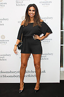 Natasha Sandhu at the Bloomsbury Street Kitchen Restaurant Launch Party in London on August 8th 2019<br /> CAP/ROS<br /> ©ROS/Capital Pictures