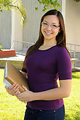Stock Photo Teenager at school
