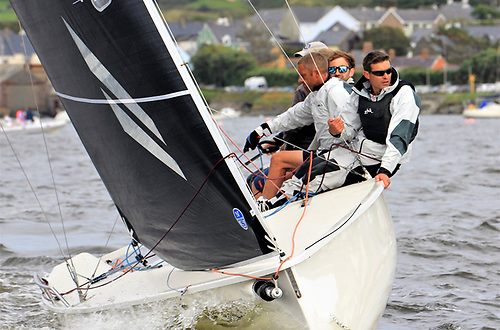 Second overall was Anthony O'Leary flying the same combination of North 3Di sails