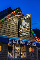 The Chatham Squire pub, Cape Cod, Massachusetts, USA