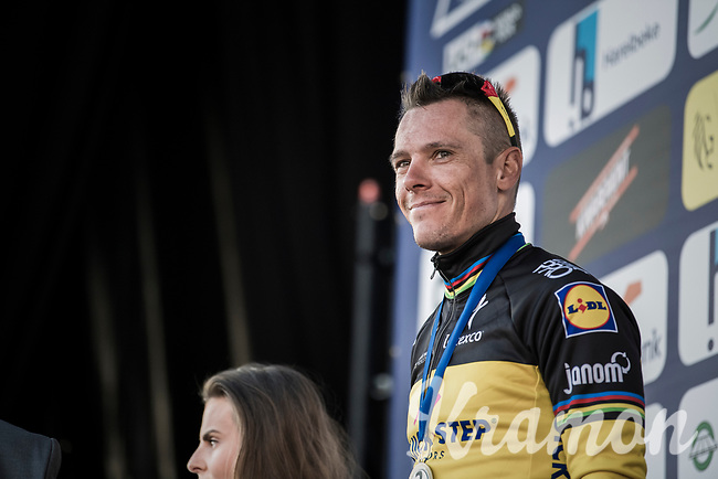 Another fine result, another 2nd place in the last 2 races; Philippe Gilbert (BEL/Quick Step floors) is in supergood shape for the Spring Classics<br /> <br /> 60th E3 Harelbeke (1.UWT)<br /> 1day race: Harelbeke &rsaquo; Harelbeke - BEL (206km)
