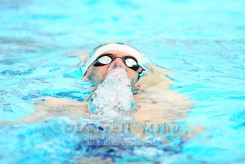 Aug 1, 2006; Irvine, CA, USA;  USA Swimming..2006 Conoco Phillips National Championships at the William Woollett Aquatics Center...Michael Phelps : 400 meter IM prelim..Photo credit: Darrell Miho