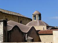 GIU 2010 Sardegna, Cagliari, Santa Maria del Monte ex sinagoga.JUN 2010 Sardinia, Cagliari, church of Santa Maria del Monte, pevious synagogue