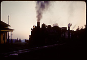 Locomotive at Cumbres station.<br /> D&amp;RGW  Cumbres, CO