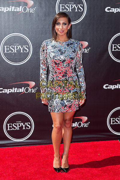 LOS ANGELES, CA - JULY 16: Cheryl Burke at the 2014 ESPYs at Nokia Theatre L.A. Live in Los Angeles, California on July 16th, 2014.   <br /> CAP/MPI/mpi99<br /> &copy;mpi99/MediaPunch/Capital Pictures