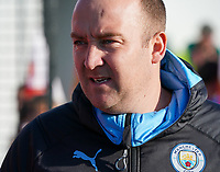 20191027 - Boreham Wood: Manchester City's coach Nick Cushing is pictured before the Barclays FA Women's Super League match between Arsenal Women and Manchester City Women on October 27, 2019 at Boreham Wood FC, England. PHOTO:  SPORTPIX.BE | SEVIL OKTEM
