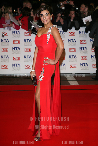 Shobna Gulati arriving at the National Television Awards 2010, at the O2, London. 20/01/2010  Picture by: Alexandra Glen / Featureflash