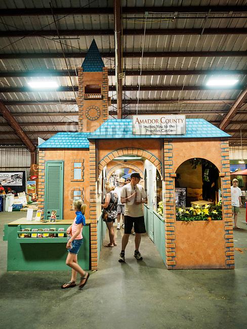 Preston Castle display from the 2015 California State Fair exhibit. The 79th Amador County Fair, Plymouth, Calif.<br /> <br /> <br /> #AmadorCountyFair, #PlymouthCalifornia,<br /> #TourAmador, #VisitAmador,