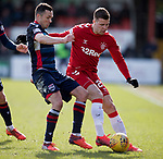 08.03.2020: Ross County v Rangers: Don Cowie and Florian Kamberi