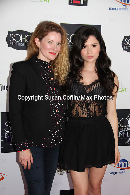 -  Seeing is Believing: Women Direct at its East Coast Premiere at Soho International Film Festival on June 19, 2017 in New York City, New York.(Photos by Sue Coflin/Max Photos) Cady McClain & Camila Perez