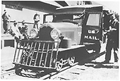 RGS Goose #1 at Rico depot.<br /> RGS  Rico, CO  early summer 1931