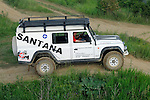 Germany, Bad Kissingen, Allrad Messe, 15-18.06.2006. Santana PS10 Anibal. Spanish built heavy duty Land Rover alternative fitted with a 2.8 Liter Iveco diesel engine. --- No releases available. Automotive trademarks are the property of the trademark holder, authorization may be needed for some uses.
