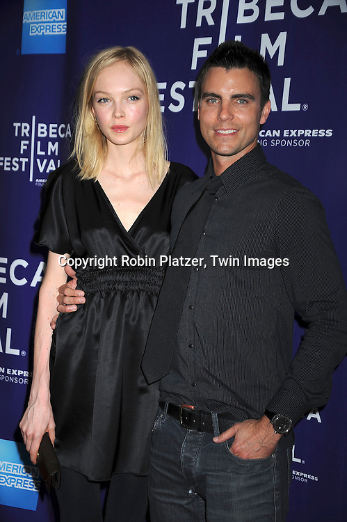 Siri Tolleroe and Colin Egglesfield