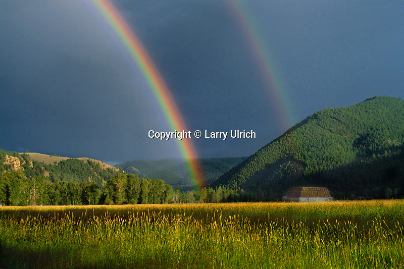 Rainbow over Rock Creek Valley<br />