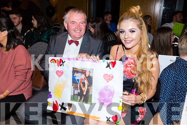 Pat Keating and Ellie Ford at the Ballyheigue GAA 'Strictly Come Dancing' in the Ballyroe Heights Hotel on Saturday night