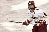 Haley Skarupa (BC - 22) - The Boston College Eagles defeated the visiting UConn Huskies 4-0 on Friday, October 30, 2015, at Kelley Rink in Conte Forum in Chestnut Hill, Massachusetts.
