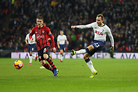 Photographer Rob Newell/CameraSport<br /> <br /> The Premier League - Tottenham Hotspur v Southampton - Wednesday 5th December 2018 - Wembley Stadium - London<br /> <br /> World Copyright © 2018 CameraSport. All rights reserved. 43 Linden Ave. Countesthorpe. Leicester. England. LE8 5PG - Tel: +44 (0) 116 277 4147 - admin@camerasport.com - www.camerasport.com