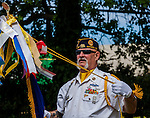 The Antioch Historical Society Museum was the location for a Vietnam Veterans Appreciation BBQ and ceremony held by Stand Down on the Delta on Saturday, April 11, 2015 in Antioch, California.  The event had a color guard  ceremony, speakers, dignataries, commemorations, and a barbecue lunch to raise funds for the Stand Down on the Delta event in the fall.  Veterans from around East County were present, Fred, of Fred's Beads was there to sell his hand made beadwork honoring veterans, and attendees enjoyed a BBQ lunch inside the Antioch Historical Society Museum.  Photo/Victoria Sheridan