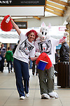 Pix: Shaun Flannery/shaunflanneryphotography.com...COPYRIGHT PICTURE>>SHAUN FLANNERY>01302-570814>>07778315553>>..19th March 2011...............Lakeside Village, Doncaster..Comic Relief Event..Cheryl Sadler & Patsy Panks.