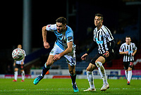 Blackburn Rovers' Ben Brereton battles with Newcastle United's Javi Manquillo<br /> <br /> Photographer Alex Dodd/CameraSport<br /> <br /> Emirates FA Cup Third Round Replay - Blackburn Rovers v Newcastle United - Tuesday 15th January 2019 - Ewood Park - Blackburn<br />  <br /> World Copyright &copy; 2019 CameraSport. All rights reserved. 43 Linden Ave. Countesthorpe. Leicester. England. LE8 5PG - Tel: +44 (0) 116 277 4147 - admin@camerasport.com - www.camerasport.com