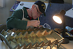 Pigeon Point Lighthouse, fresnel lens restoration