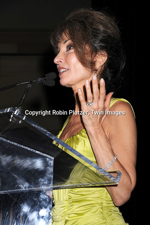 Susan Lucci in Versace Dress.at The American Federation of Television and Radio Artists Dinner honoring jounalist Sam Donaldson, actress Susan Lucci and singer Maureen McGovern with The AMEES Awards which stands for The Aftra Media and Entertainment Excellence Awards. The event was on .January 28, 2008 at Gotham Hall in New York City. ..Robin Platzer, Twin Images