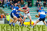 Causeway in action against Darren Dineen St Brendans during the Senior Kerry County Hurling Semi Finals between Causeway v Brendans at Austin Stack park on Saturday last.