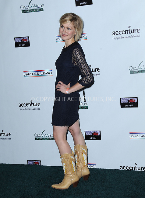 WWW.ACEPIXS.COM<br /> <br /> February 19 2015, LA<br /> <br /> Megan O'Neill arriving at the US-Ireland Alliance Pre-Academy Awards event at Bad Robot on February 19, 2015 in Santa Monica, California. <br /> <br /> <br /> By Line: Peter West/ACE Pictures<br /> <br /> <br /> ACE Pictures, Inc.<br /> tel: 646 769 0430<br /> Email: info@acepixs.com<br /> www.acepixs.com