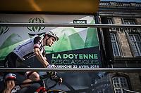Tom Dumoulin (NED/Team Sunweb) at the pre race sing in.<br /> <br /> 104th Liège - Bastogne - Liège 2018 (1.UWT)<br /> 1 Day Race: Liège - Ans (258km)